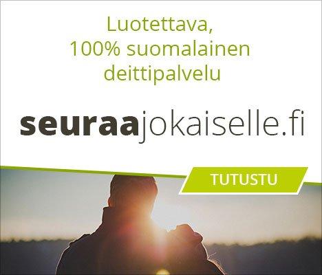 Luotettava, 100 % suomalainen deittipalvelu. Seuraajokaiselle.fi.